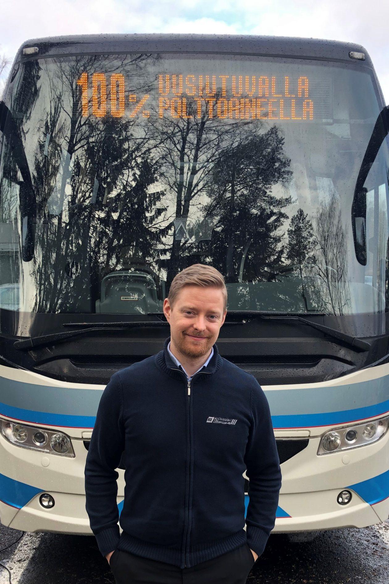 Yhdessä tehden toimeksiantajan kanssa – Hyvinkään Liikenne Oy:n projekti